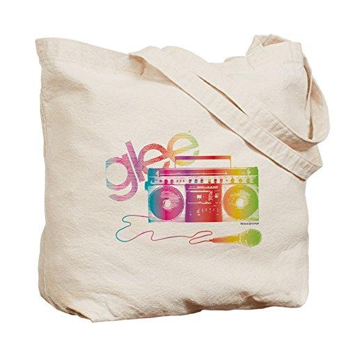 CafePress Glee–Boombox–Gamuza de bolsa de lona bolsa, bolsa de la compra