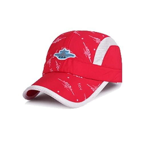 Kehuitong Sombrero, Sombrero de Sol de Malla para niña niño, Gorra ...