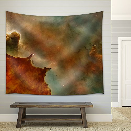 Abstract Universe Concept Fabric Wall