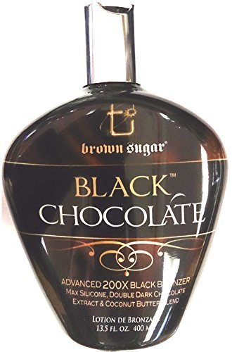 Lotion Tanning Bed Brown (Black Chocolate 200x Black Bronzer Indoor Tanning Bed Lotion By Tan Inc.)
