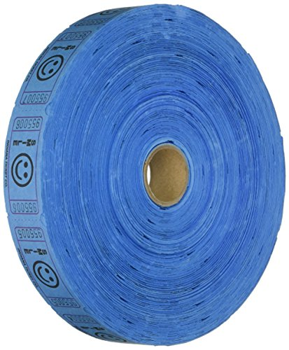 2000 Blue Smile Single Roll Consecutively Numbered Raffle Tickets (Tickets)