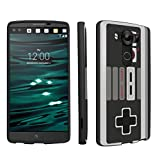 LG V10 Case, DuroCase ® Hard Case Black for LG V10 (Released in 2015) – (Game Controller)