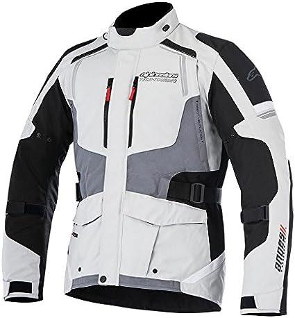 Alpinestars Motorbike Motorcycle Andes V2 Drystar Jacket Military Green Black Red XL