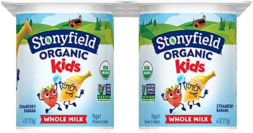 Stonyfield Farms Kids Yogurt, Strawberry Banana, 24 oz