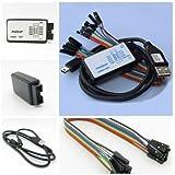 USB Logic Analyzer Device Set USB Cable 24MHz 8CH 24MHz for ARM FPGA
