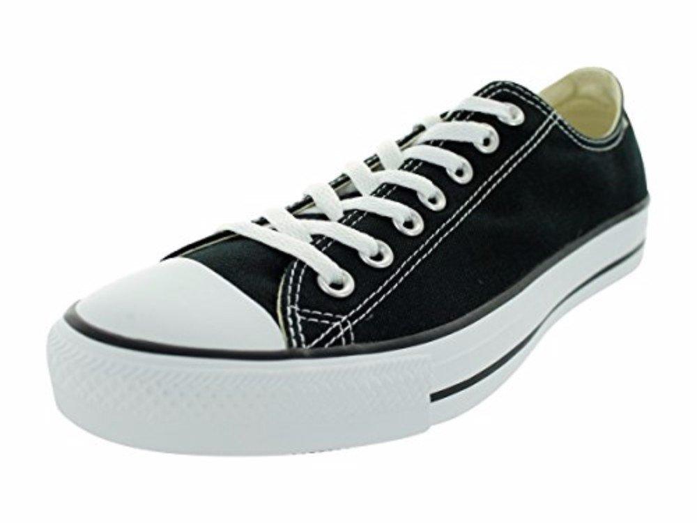 Converse Unisex Chuck Taylor All Star Low Top Black Sneakers - 7 Men 9 Women