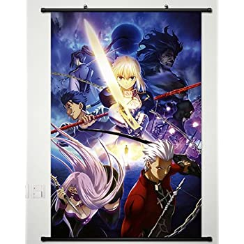 Home Decor Anime Fate/Zero Altria Pendragon Whole Wall Scroll Poster Fabric Painting Cosplay 23.6 X 35.4 Inches-165