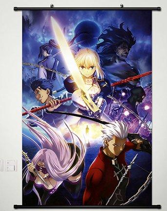 Home Decor Anime Fate/Zero Altria Pendragon Whole Wall Scrol