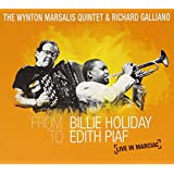 From Billie Holiday To Edith Piaf :Live In Marciac CD+DVD