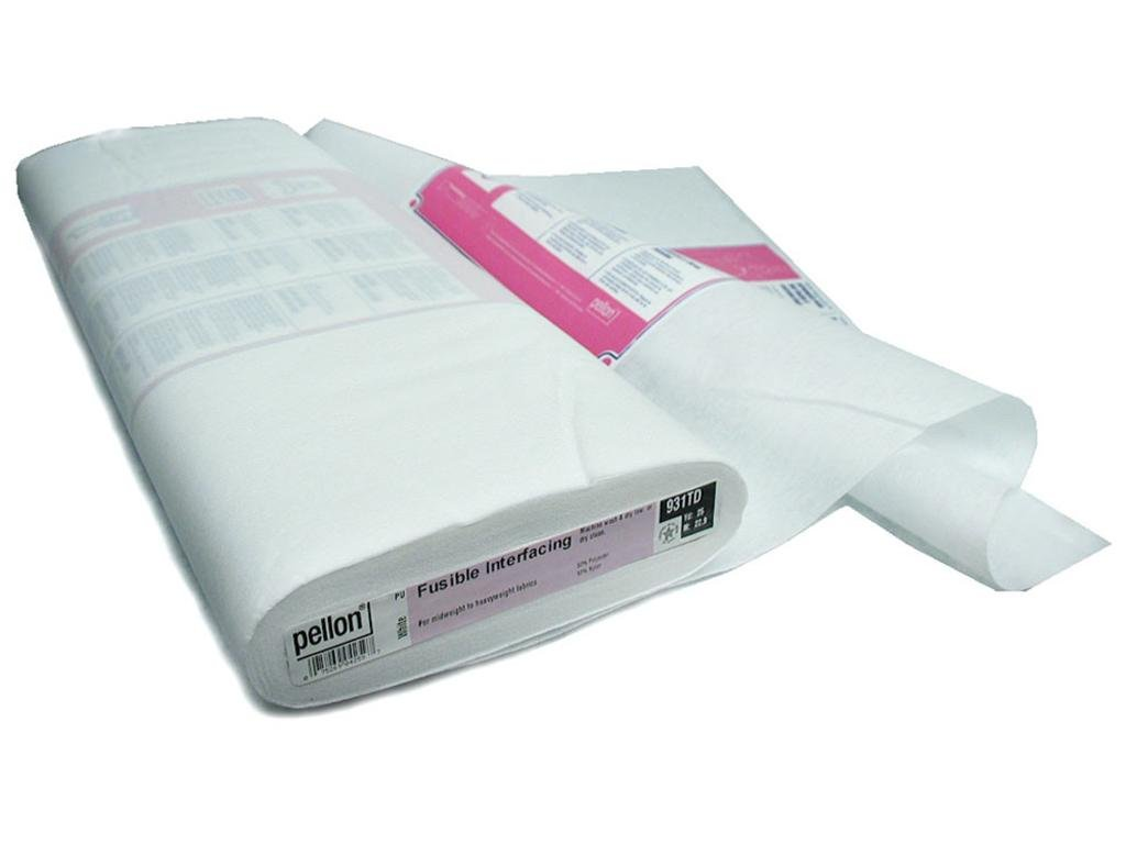 Pellon Fusible Midweight Interfacing 20 in. x 25 yd. White (25 yards)