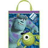 "Large Plastic Monsters University Goodie Bag, 13"" x 11"""