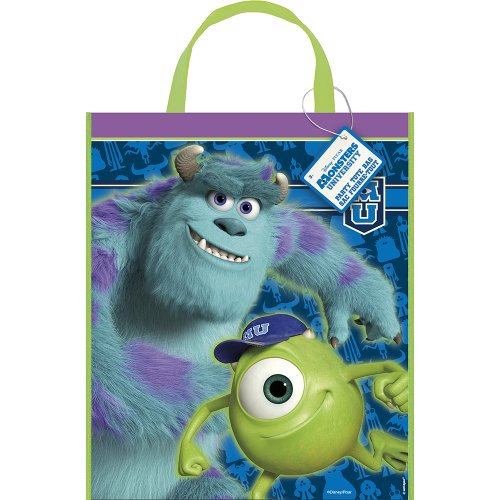 Large Plastic Monsters University Goodie Bag, 13