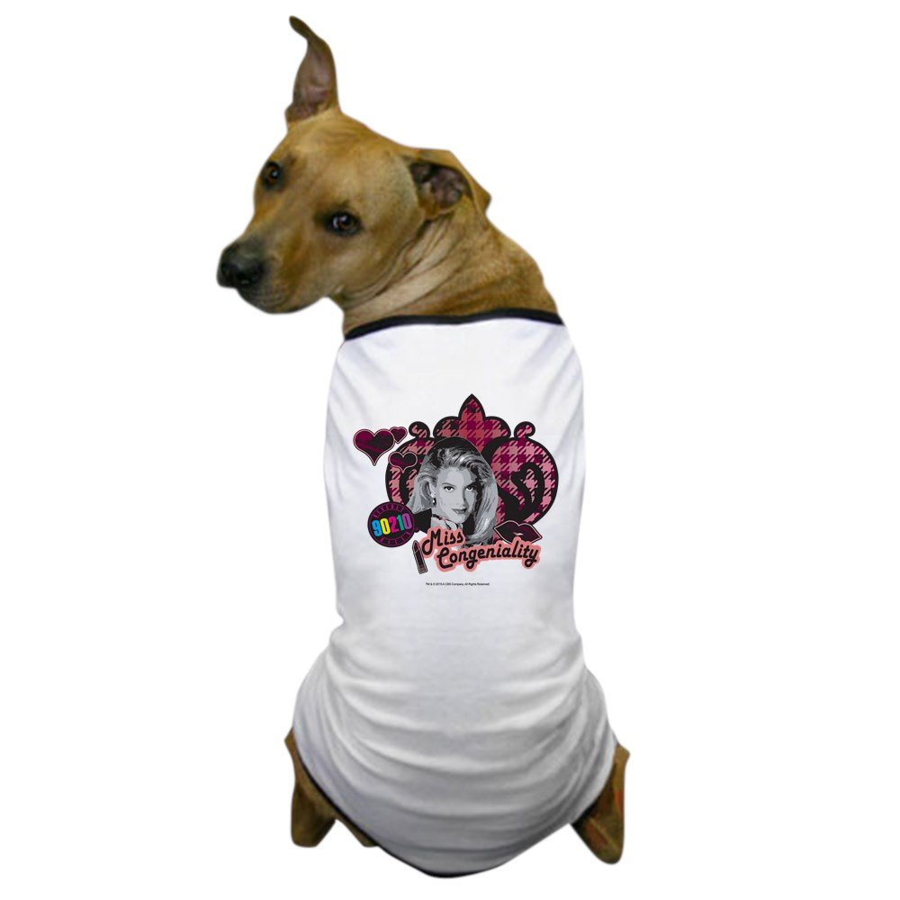 2X-Large CafePress 90210  women Martin Miss Congeniality Dog T-Shirt, Pet Clothing, Funny Dog Costume