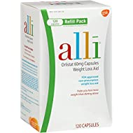 alli Refill Pack 120 Caps (Pack of 3)