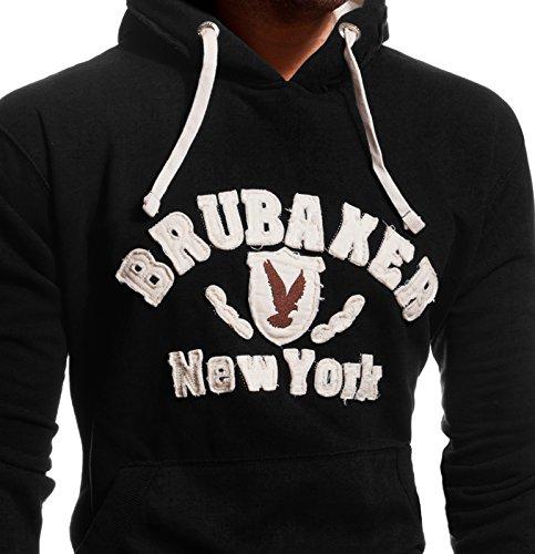 Y. para hombre Brubaker/ sudadera con capucha con /águila de N /sudadera con capucha