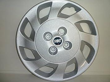 Juego de tapacubos 4 tapacubos diseño Elx (Fiat Punto 3 puertas II serie) desde 1999 r 14: Amazon.es: Coche y moto