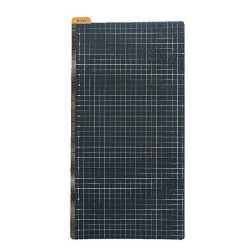 Pencil Board Bookmark Ruler Shitajiki for Traveler's Notebook Regular Size, Sold by Chris.W (4.33 x 8.25 Inch) -