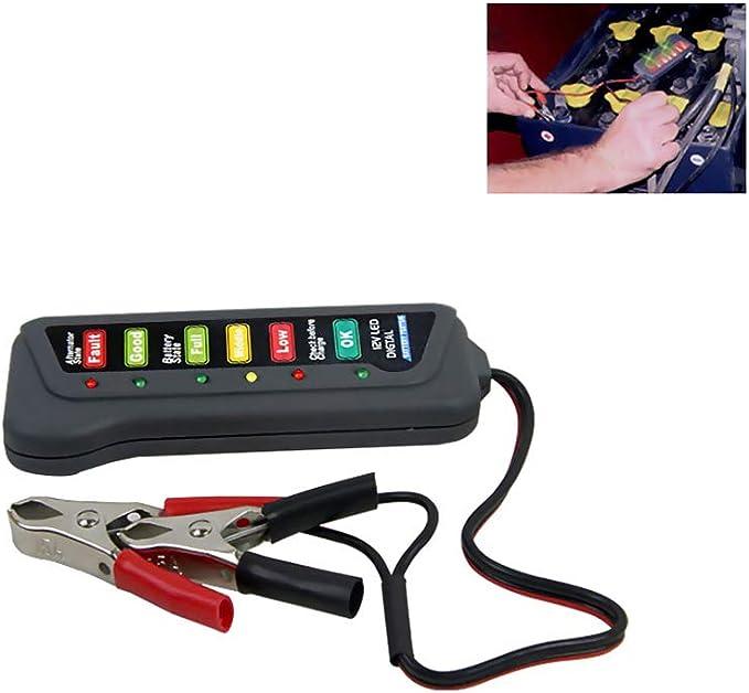 EisEyen - Generador de Corriente alterna, 12 V, LED, Digital, para Coche, Moto, camión