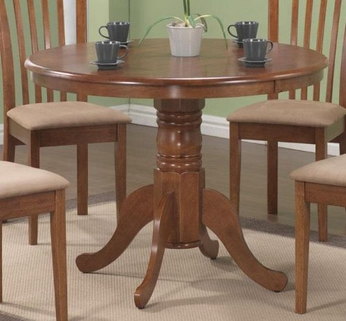 Brannan Dining Table (30 Inch Pedestal Dining Table)