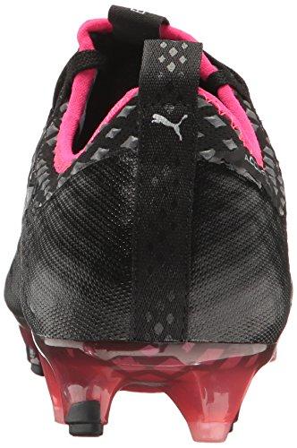 Shade Shoe Men's Black Quiet evoPOWER Puma FG 1 Silver Bright Soccer Vigor Puma Plasma PZwFgYxx