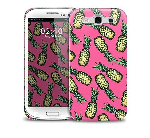 Pi–as Rosa telŽfono protectora cubierta de la caja que cae pl‡stico Samsung Galaxy S3 GS3