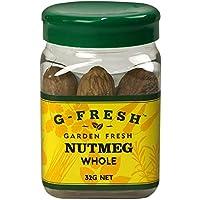 G-Fresh Nutmeg (Whole), 32 g