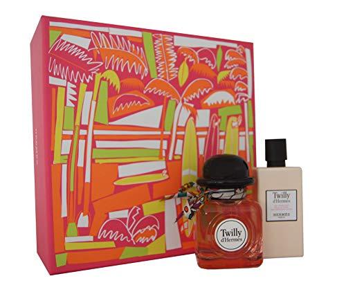 Hermes Twilly D'hermes for Women 2 Piece Set (2.8 Ounce Eau De Parfum Spray + 2.7 Ounce Moisturizing Body -