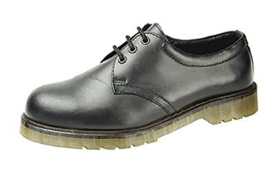 Mens Grafters Safety Shoes Safety Toe Cap Air Cushion Sole
