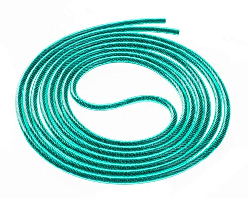 Buddy Lee Green Hornet Cable for Aero Speed Jump Rope 8' for Users up to 5'5