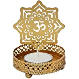 Tealight Candle Home Decor Diwali Gift Decoration for your Home Temple By Paridhi Collections (Om)