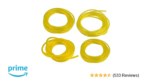 Amazon.com : Hipa (4 Size 4-Feet-Long Fuel Line Hose Tube ...