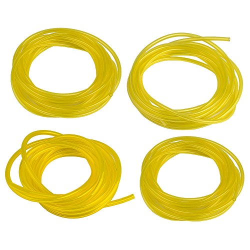 (HIPA (4 Size 4-Feet-Long Fuel Line Hose Tube I.D. x O.D. 3/32