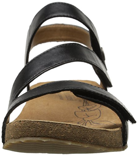 Sandal Black Josef Tonga 25 Women's Seibel Fisherman 7qnnWYOX