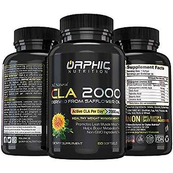 Amazon.com: CLA – 2000 mg máxima potencia Cápsula Cápsulas ...