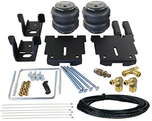 (airmaxxx 2007-2018 Chevy Silverado 1500 No Drill Towing Air Over Load Kit )