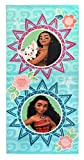 Disney Moana Waves Super Soft & Absorbent Kids Bath/Pool/Beach Towel, Featuring Moana and Pua Pig - Fade Resistant Cotton Terry Towel, Measures 28 inch x 58 inch (Official Disney Product)