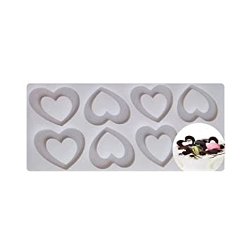 Home, Furniture & DIY Other Baking Accessories and Cake Decorating 1Pc Rectangular Hollow Shape Fondant Cake Baking Chocolcate Mold Decorating Mold