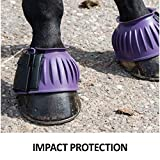 Dura-Tech Ribbed Rubber Double Lock Bell Horse