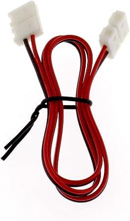 Verbinder mit 50cm Kabel Verbinder für 8mm LED Band LED Streifen Clip