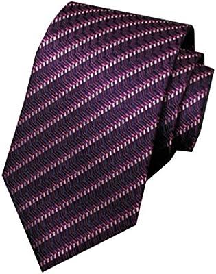 Fgregt - Corbata de Seda para Hombre, diseño de Rayas, Color ...