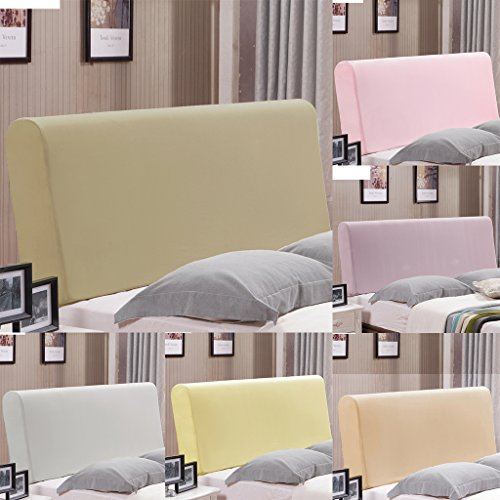 Fityle Stretch Wooden Leather Bed Headboard Cover Protector Slipcover For 140-170cm - Champagne by Fityle (Image #2)