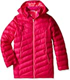 Spyder Girls Timeless Long Synthetic Down Jacket, X-Small, Voila/Bryte Bubblegum
