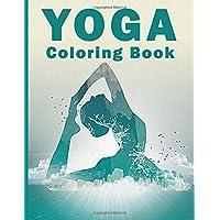 Yoga coloring book: Yoga coloring book