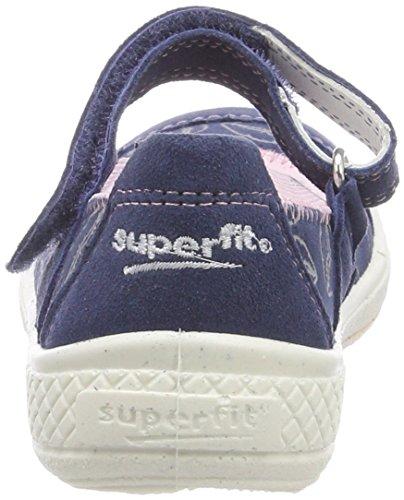Superfit Tensy, Bailarinas con Correa de Tobillo Para Niñas Blau (Water Multi)