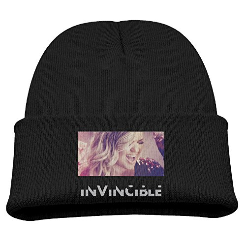[SHEAKA Kelly Clarkson Baby's Knitted Mountain ClimbingCap Hat Black For Autumn And Winter] (Scott Hall Costume)