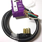 Frig Prts & Acc Smart Choice 6' 30-Amp. 4-Prong Dryer Cord