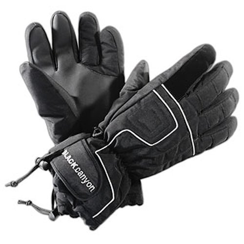 Black Canyon Skihandschuhe, schwarz/silber, S