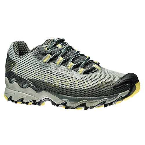 La Sportiva Women's Wildcat Trail Running Shoe, Grey/Butter, 36 M EU