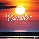 2018 Sunsets Wall Calendar