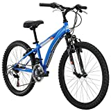 Diamondback Bicycles Cobra Kid's Mountain Bike, 24' Frame, Blue